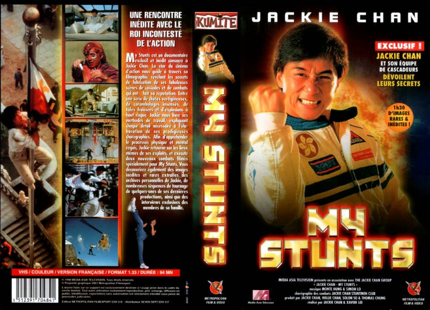 Jackie Chan My Stunts